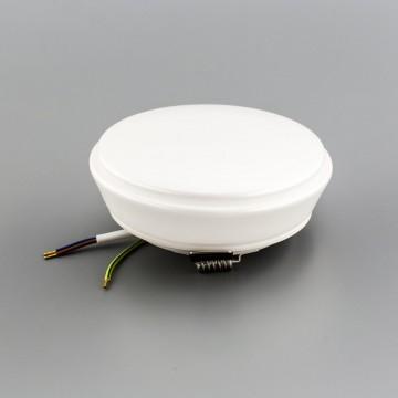 Встраиваемый светодиодный светильник Citilux Дельта CLD6008W, IP54 3000K (теплый), белый, пластик - миниатюра 12