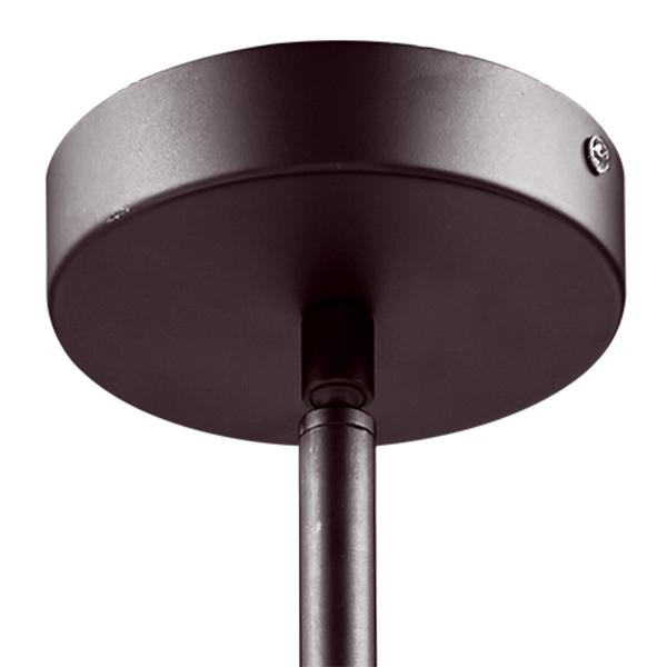 Люстра на составной штанге Lightstar Amerigo 746068, 6xE14x40W, коричневый, металл, металл с хрусталем - фото 3