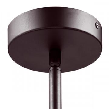 Люстра на составной штанге Lightstar Amerigo 746068, 6xE14x40W, коричневый, металл, металл с хрусталем - миниатюра 4