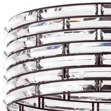 Люстра на составной штанге Lightstar Amerigo 746068, 6xE14x40W, коричневый, прозрачный, металл, хрусталь - миниатюра 2