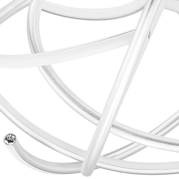 Подвесная светодиодная люстра Lightstar Ciclone 748152, LED 154W 3000K 11300lm, хром, серебро, металл, металл с пластиком - фото 2