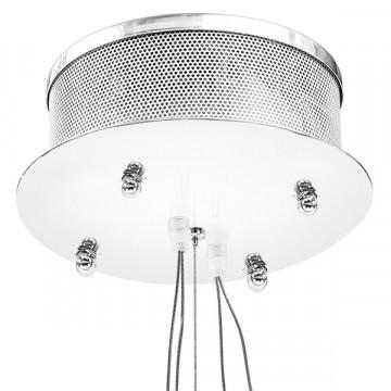 Подвесная светодиодная люстра Lightstar Ciclone 748152, LED 154W 3000K 11300lm, хром, серебро, металл, металл с пластиком - миниатюра 4