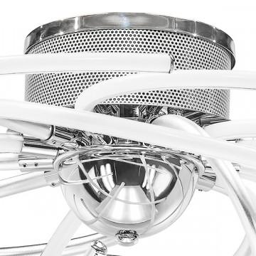 Потолочная светодиодная люстра Lightstar Ciclone 748094, LED 92W 4000K 6700lm, хром, серебро, металл, металл с пластиком - миниатюра 3
