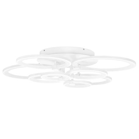 Потолочная светодиодная люстра Lightstar Breve 749094, LED 92W, 4000K (дневной), белый, металл, пластик