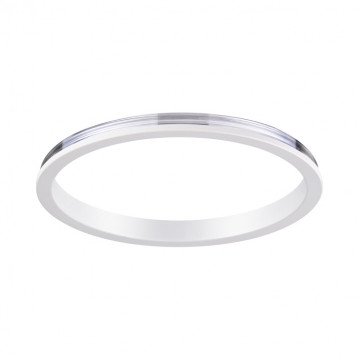 Декоративная рамка Novotech Konst Unite 370540, белый, металл
