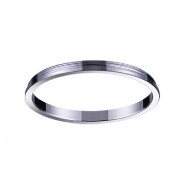 Декоративная рамка Novotech Konst Unite 370542, хром, металл