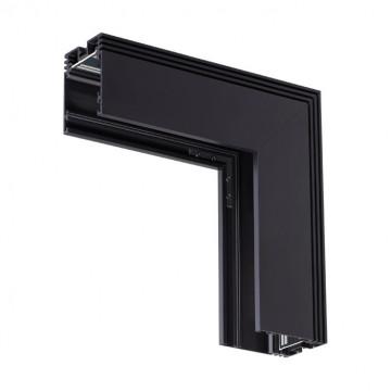 L-образный соединитель для шинопровода Novotech Kit 135029, черный, металл