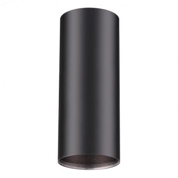 Потолочный светильник Novotech Unite 370533, 1xGU10x50W, черный, металл - миниатюра 1