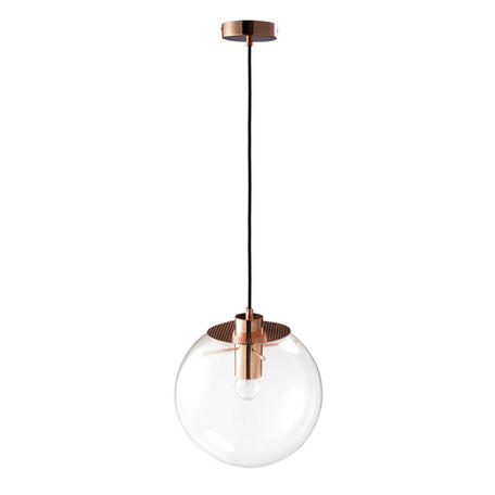 Подвесной светильник Loft It Selene 2032-C, 1xE27x60W, медь, прозрачный, металл, стекло