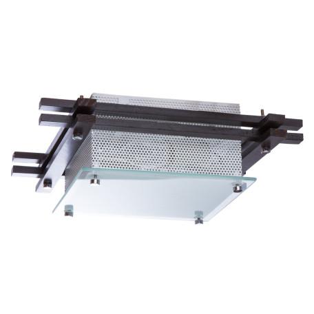 Потолочный светильник Arte Lamp Archimede A6463PL-2BR, 2xE27x60W, венге, белый, дерево, стекло