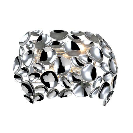 Бра Favourite Gittus 2012-2W, 2xE14x40W, хром, металл