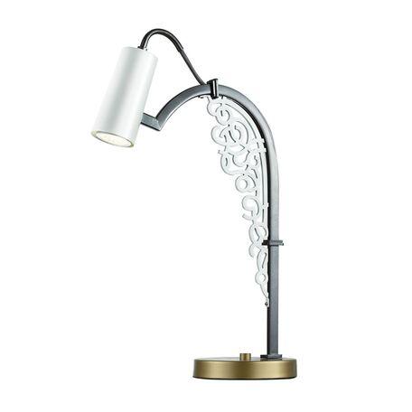Настольная лампа Favourite Fabia 2301-1T, 1xGU10x5W