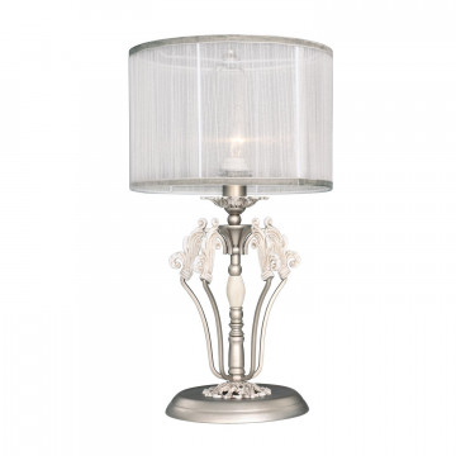 Настольная лампа Favourite Prima 2306-1T, 1xE14x40W, металл, текстиль