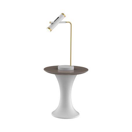 Настольная светодиодная лампа Favourite Duplex 2323-2T, LED 6W 4000K (дневной)