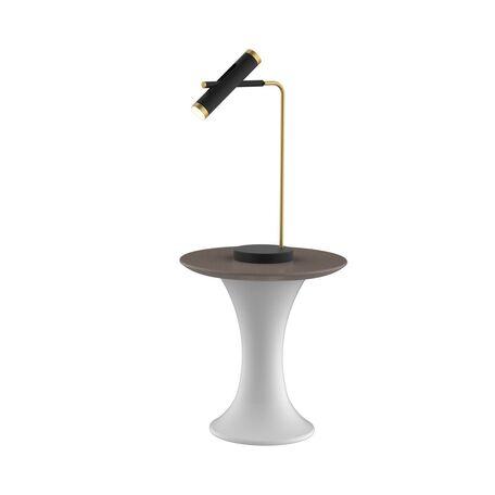 Настольная светодиодная лампа Favourite Duplex 2324-2T, LED 6W 4000K (дневной)