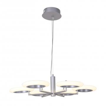 Подвесная светодиодная люстра Favourite Annuli 2208-6P, LED 48W 3000K (теплый)