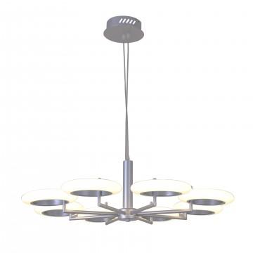 Подвесная светодиодная люстра Favourite Annuli 2208-8P, LED 64W 3000K (теплый)