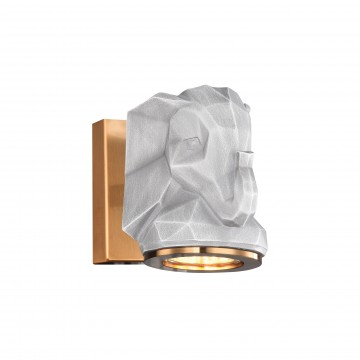 Настенный светильник Favourite Elephant 2322-1W, 1xGU10x5W