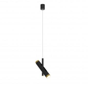 Подвесной светодиодный светильник с регулировкой направления света Favourite Duplex 2324-2P, LED 6W 4000K (дневной)