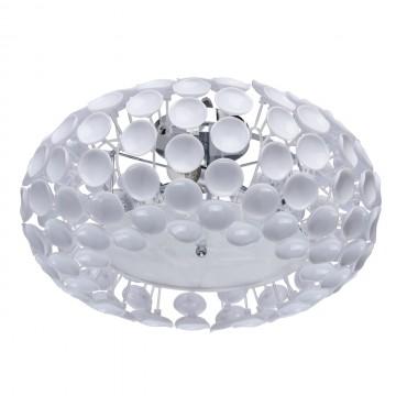 Потолочный светильник MW-Light Виола 298013005, 5xE14x40W, хром, белый, металл, пластик