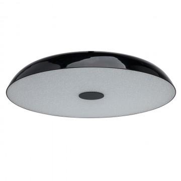 Потолочный светильник MW-Light Канапе 708010609, 9xE27x10W, черный, металл, стекло