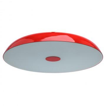 Потолочный светильник MW-Light Канапе 708010509, 9xE27x10W, красный, матовый, металл, стекло