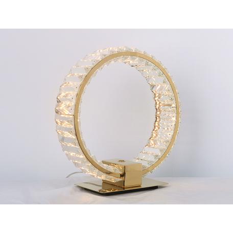 Настольная лампа Newport 8440 8441/T gold, Gold Clear crystal L30*13*H35 cm LED strip 15W 3000K 15