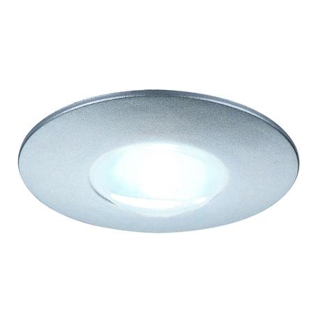 Встраиваемый мебельный светодиодный светильник SLV DEKLED 112240, LED 4000K, серый, металл