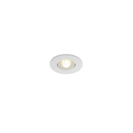 Встраиваемый светодиодный светильник SLV NEW TRIA 40 ROUND CS 113971, IP44, LED 3000K, белый, металл
