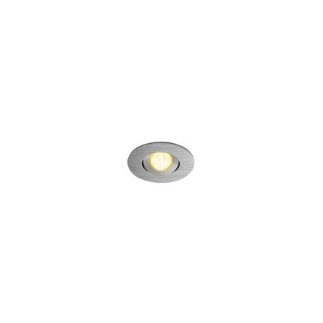 Встраиваемый светодиодный светильник SLV NEW TRIA 40 ROUND CS 113976, IP44, LED 3000K, алюминий, металл