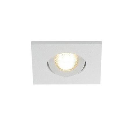 Встраиваемый светодиодный светильник SLV NEW TRIA 40 SQUARE CS 114401, IP44, LED 3000K, белый, металл