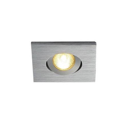 Встраиваемый светодиодный светильник SLV NEW TRIA 40 SQUARE CS 114406, IP44, LED 3000K, алюминий, металл
