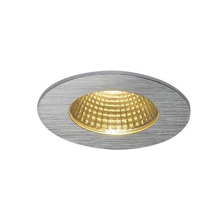 Встраиваемый светодиодный светильник SLV PATTA-I ROUND 114426, IP65, LED 3000K, алюминий, металл