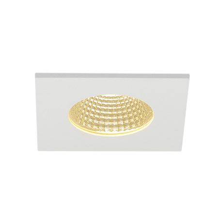 Встраиваемый светодиодный светильник SLV PATTA-I SQUARE 114431, IP65, LED 3000K, белый, металл