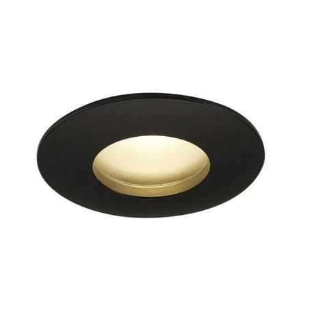 Встраиваемый светодиодный светильник SLV OUT 65 ROUND 114460, IP65, LED 3000K, черный, металл