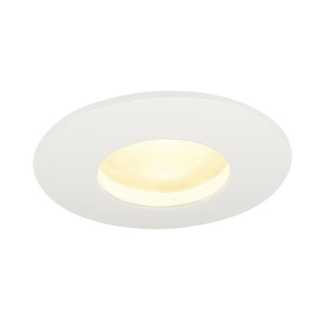 Встраиваемый светодиодный светильник SLV OUT 65 ROUND 114461, IP65, LED 3000K, белый, металл