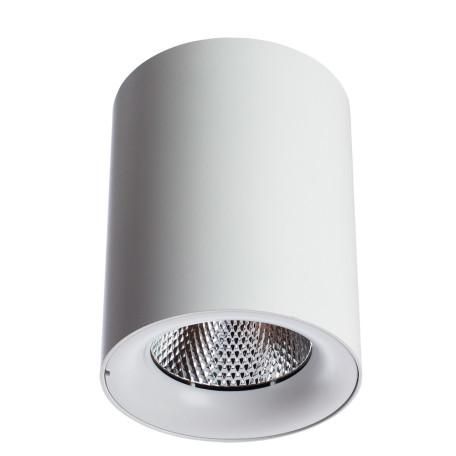 Потолочный светодиодный светильник Arte Lamp Instyle Facile A5118PL-1WH, LED 18W 3000K 1550lm CRI≥80, белый, металл