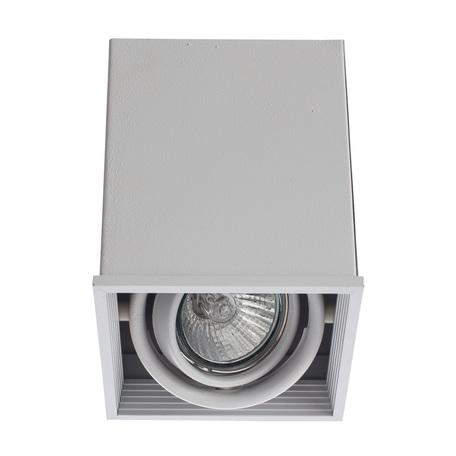 Потолочный светильник Arte Lamp Instyle Cardani Piccolo A5942PL-1WH, 1xGU10x50W, белый, металл