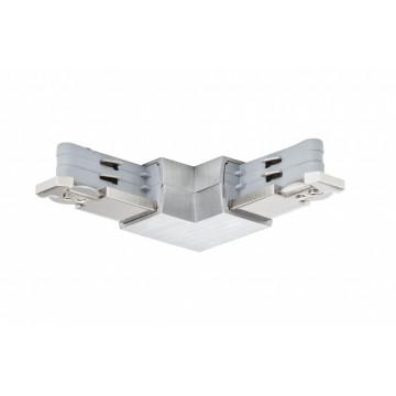 L-образный соединитель для шинопровода Paulmann Pro Rail System 95142, алюминий, металл