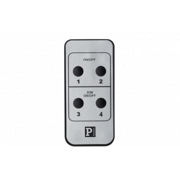 Пульт дистанционного управления Paulmann URail 95073, матовый хром, пластик