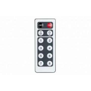 Пульт дистанционного управления Paulmann URail 95296, матовый хром, пластик