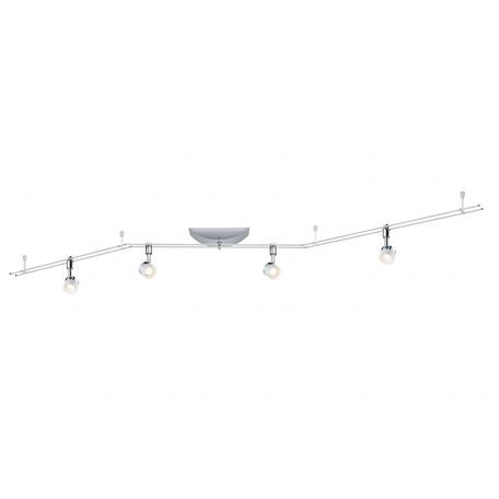 Рельсовая система освещения Paulmann Stage 95077, LED 20W, хром, металл