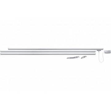 Шинопровод в сборе с питанием и заглушкой Paulmann URail 95016, металл