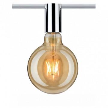 Светильник Paulmann URail Ceiling Socket 95200, 1xE27x20W, хром, металл