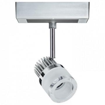 Светодиодный светильник с регулировкой направления света Paulmann VariLine Spot GlasTube 95297, LED 11W, алюминий, металл, стекло