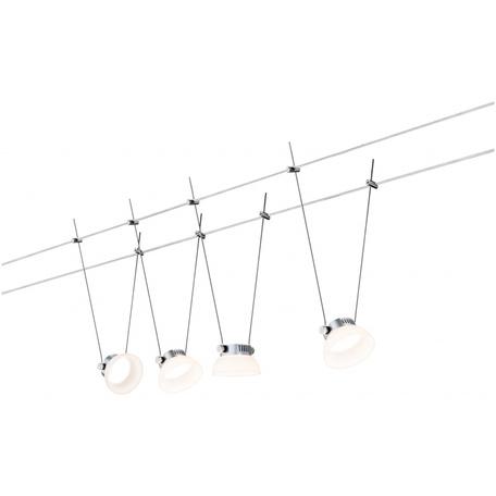 Тросовая система освещения Paulmann IceLED 94112, LED 16W, металл, пластик