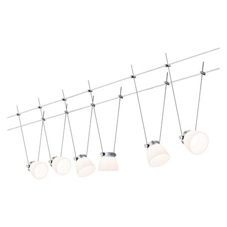 Тросовая система освещения Paulmann Spot IceLED II 94115, LED 24W, металл, пластик
