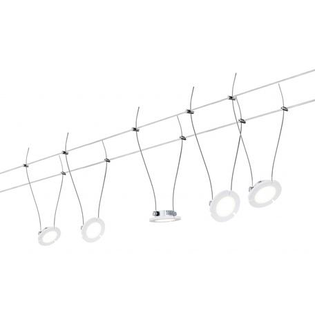 Тросовая система освещения Paulmann DaisyLED 94118, LED 20W, металл, металл с пластиком