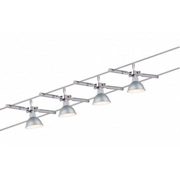Тросовая система освещения Paulmann Togo 94120, 4xGU5.3x4W, металл