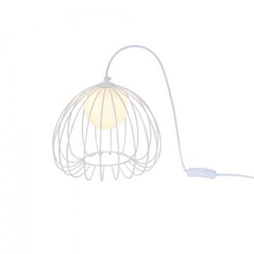 Настольная лампа Maytoni Polly MOD542TL-01W, 1xG9x28W, белый, металл со стеклом
